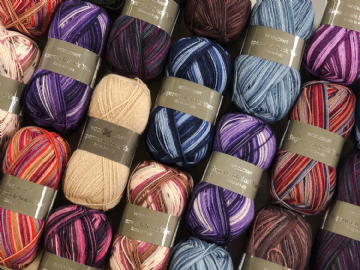 Woolcraft Superwash Sock Yarn 4Ply 100g